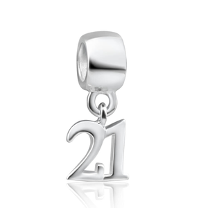 Amadora Sterling Silver Deluxe #21 Charm