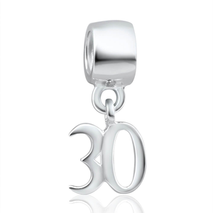 Amadora Sterling Silver Deluxe #30 Charm