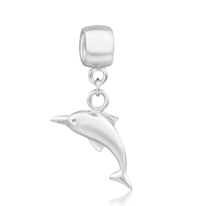 Amadora Sterling Silver Dolphin Charm