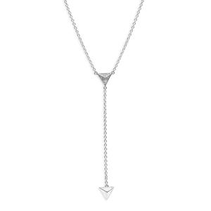 Sterling Silver Zirconia Fancy Chain