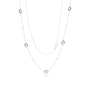 Sterling Silver Amethyst Chain