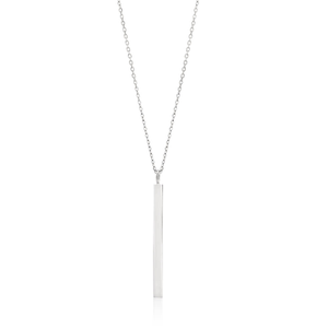 Sterling Silver Pendant With 43cm Chain