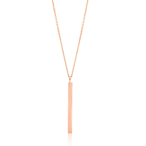 Gold Plated Sterling Silver Pendant With 43cm Chain