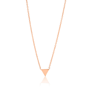 Gold Plated Sterling Silver Pendant With 45cm Chain