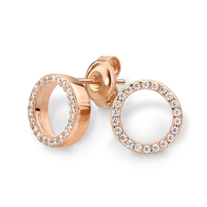 Georgini Gold Plated Sterling Silver Stud Earrings