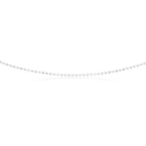 Sterling Silver Fancy Diamond Cut Twist Chain