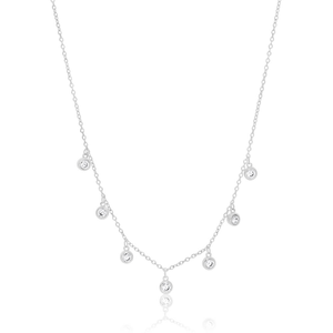 Sterling Silver Zirconia Chain