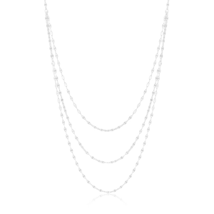 Sterling Silver Fancy Necklace