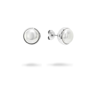 Georgini Lucca Simulated Pearl 10mm Earrings