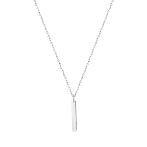 Georgini Milan Engraveable Sterling Silver Pendant Chain