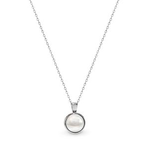 Georgini Lucca Simulated Pearl Pendant Chain