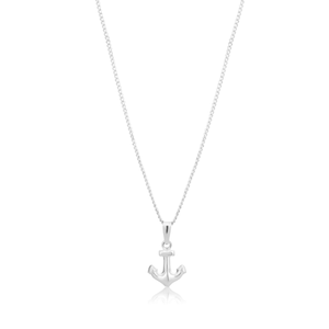 Sterling Silver Small Anchor Pendant