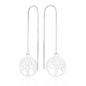 Streling Silver Tree Of Life Threader 10cm