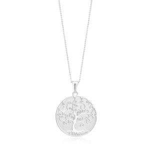 Serling Silver Tree of Life Pendant