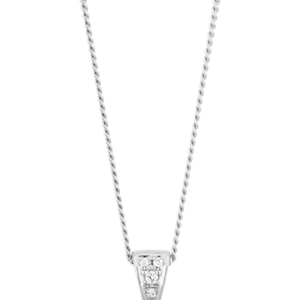 9ct South Sea Pearl Pendant with Pink Sapphire & Diamonds