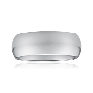 Forte Tungsten 8mm Plain Ring