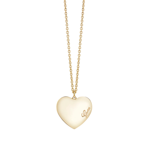 Guess Gold Plated Heartbeat Fancy Chain
