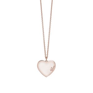 Guess Gold Plated Heartbeat Love Fancy Chain