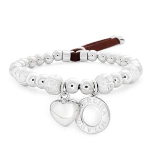 Sterlina Milano Fancy Bead Bracelet