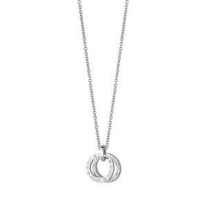 Guess Rhodium Plated Circles Fancy Chain