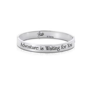 DISNEY Beauty and the Beast 'Adventure Is Waiting For You' Bangle