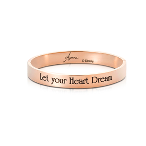 DISNEY Sleeping Beauty Princess Aurora 'Let Your Heart Dream' Bangle