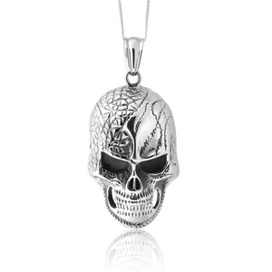 Stainless Steel Large Skull Pendant