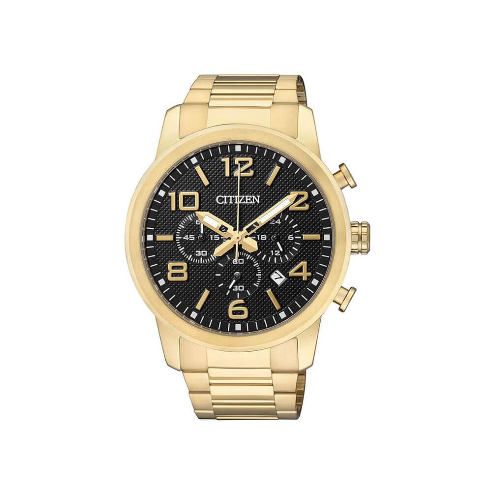 Citizen AN8052-55E Gold Tone Mens Watch