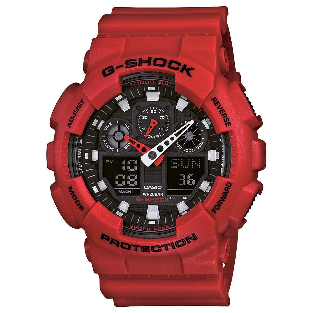 Casio GA100B-4A G-Shock Mens Watch
