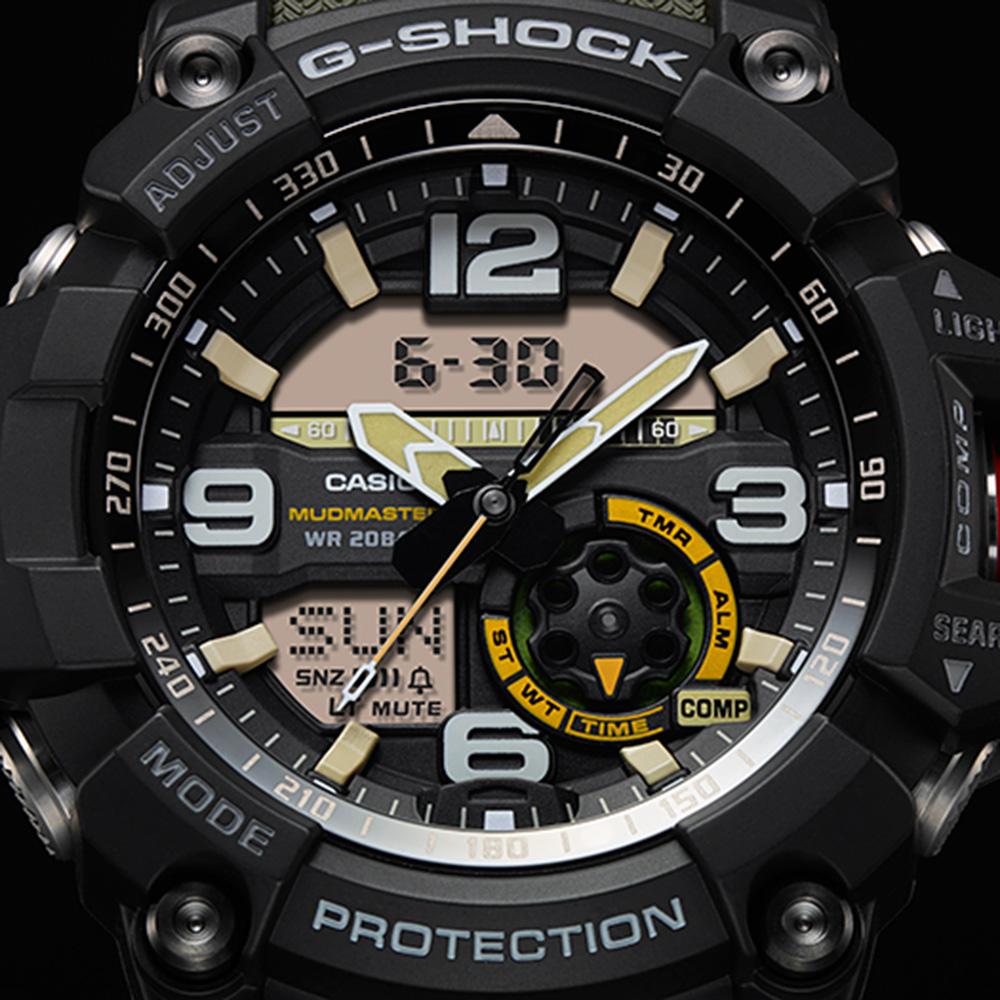 G-Shock MASTER OF G MUDMASTER Twin Sensor GG1000-1A3