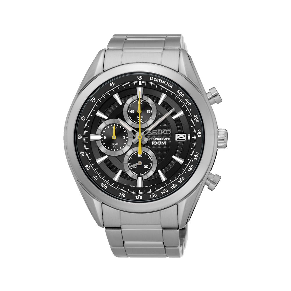 Seiko SSB175P Chronograph Stainless Steel Mens Watch
