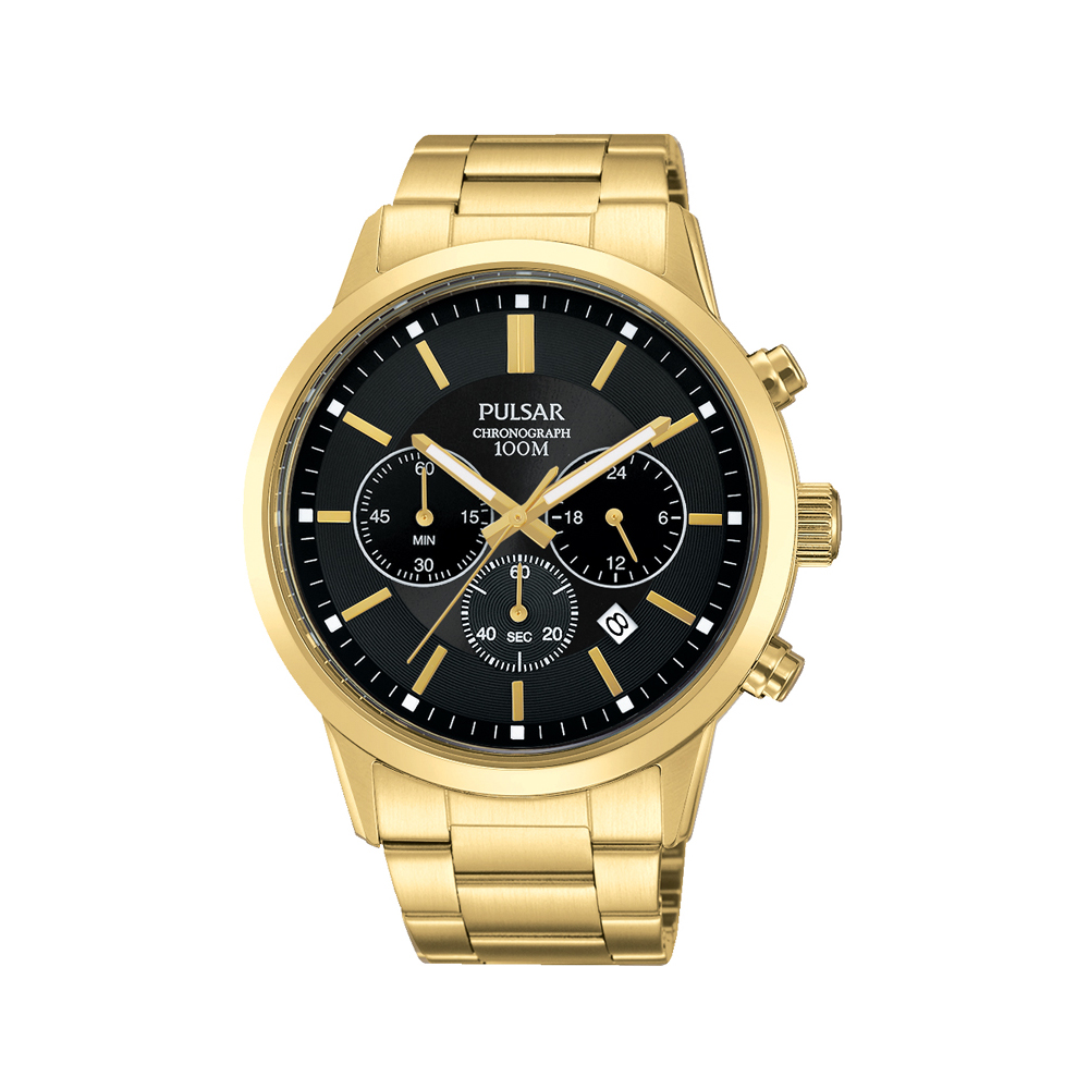 Pulsar PT3748X Mens Chronograph Watch