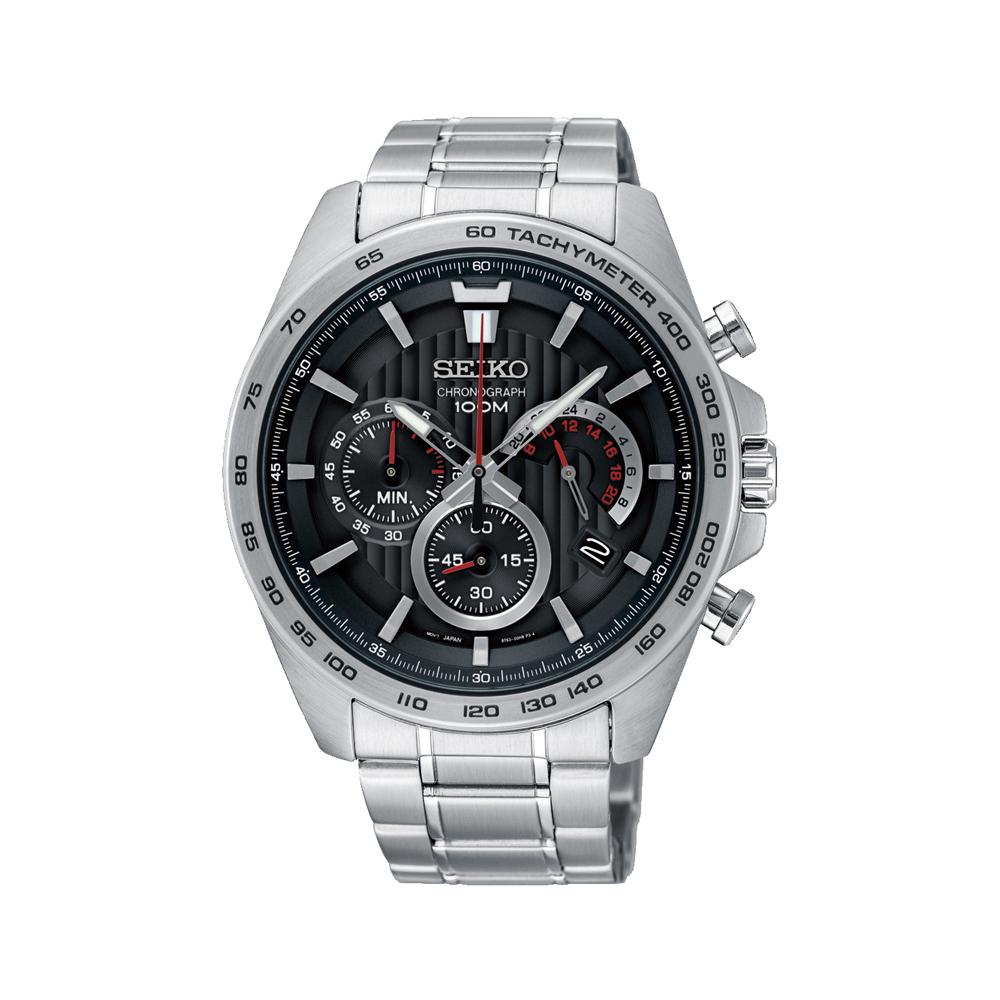 Seiko SSB299P Chronograph Stainless Steel Mens Watch