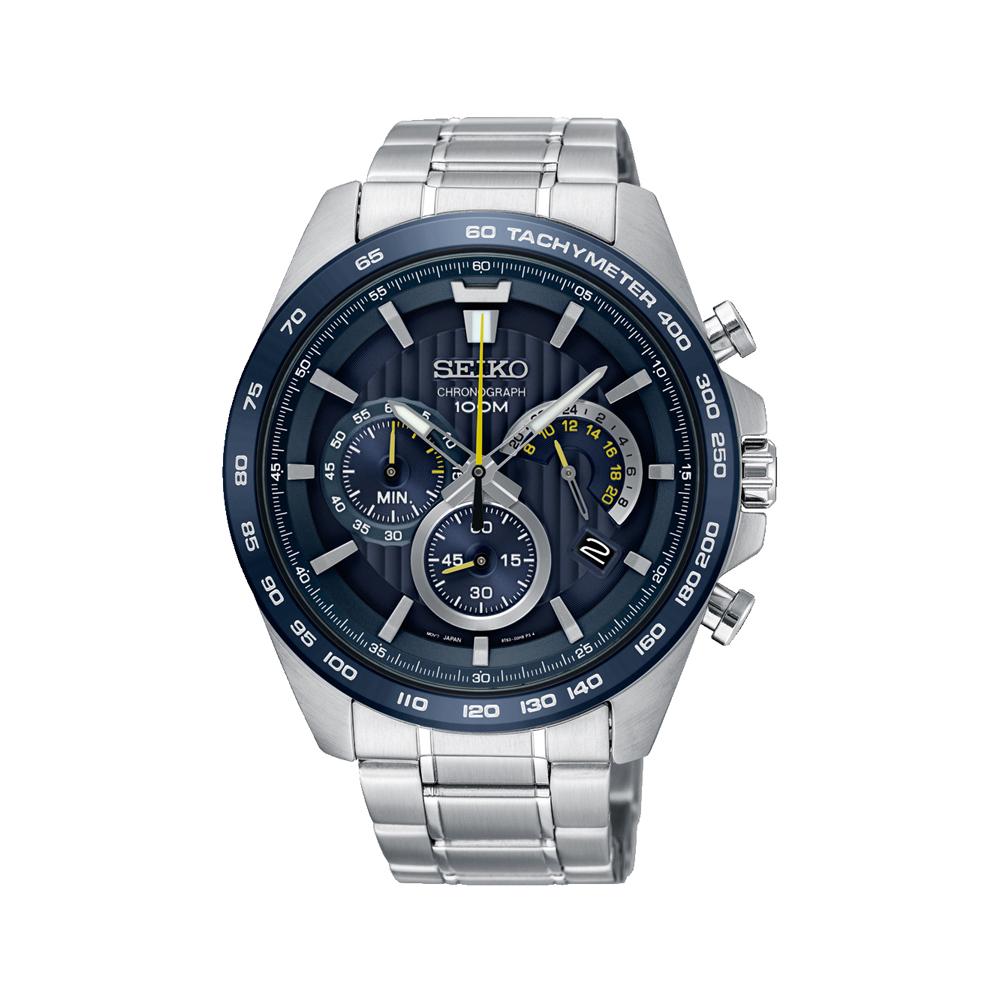 Seiko SSB301P Chronograph Stainless Steel Mens Watch