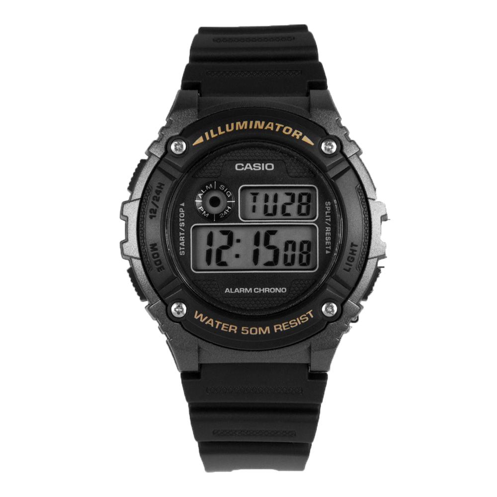 Casio W216H-1B Digital Mens Watch