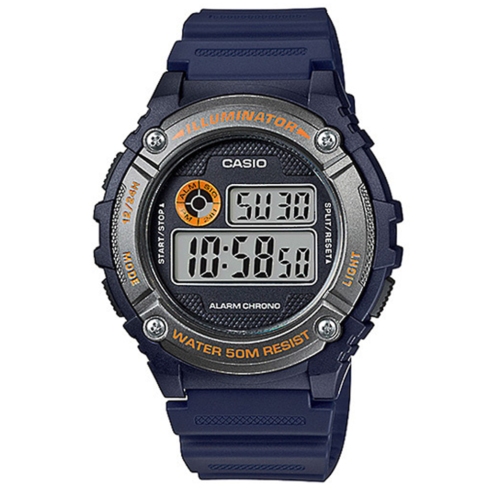 Casio W216H-2B Digital Mens Watch