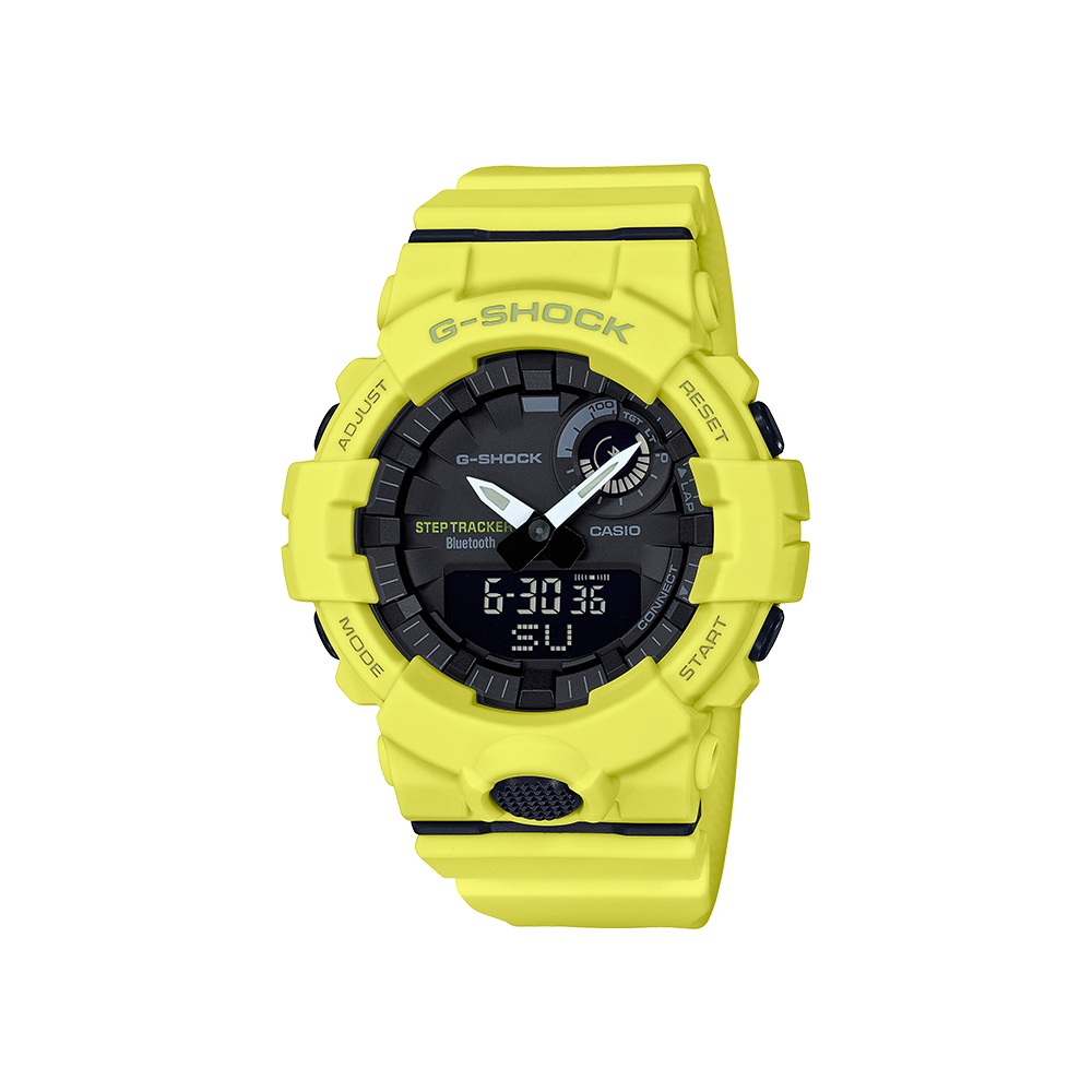 Casio G-Shock GBA800-9A Step Tracker Yellow and Black Mens Watch