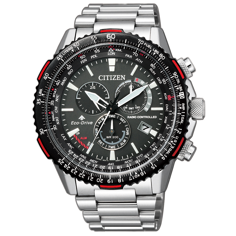 Citizen Eco-Drive Promaster Sky CB5001-57E Stainles Steel Watch