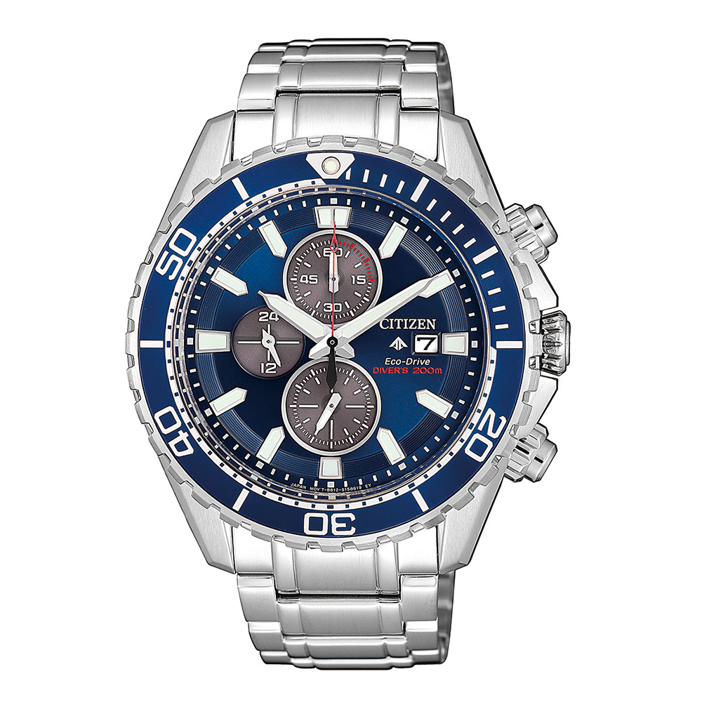 Citizen Eco-Drive Promaster CA0710-82L Silver Stainless Steel Mens Watch