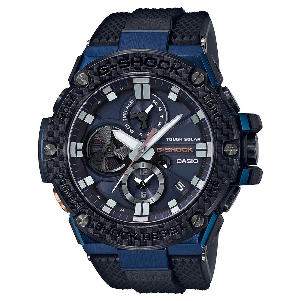 G Shock Steel GSTB100XB-2A   Bluetooth Mens Watch