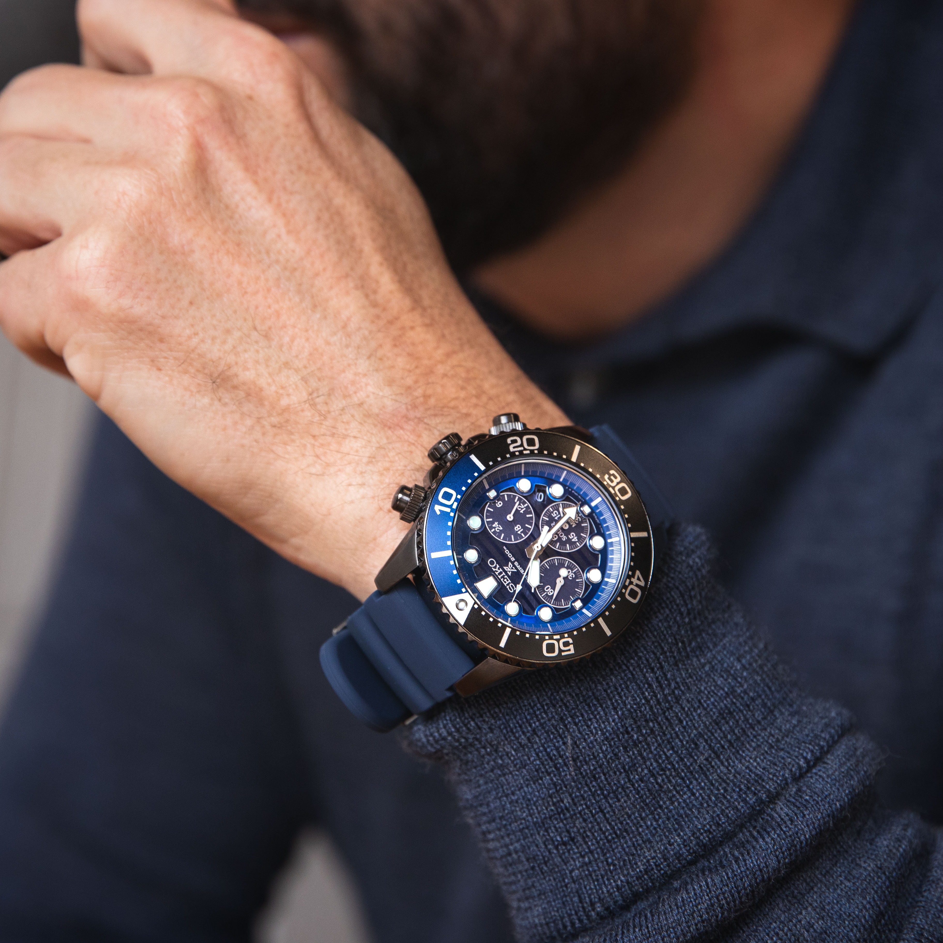 Seiko Prospex SSC701P Special Edition 'Save the Ocean' Divers Watches