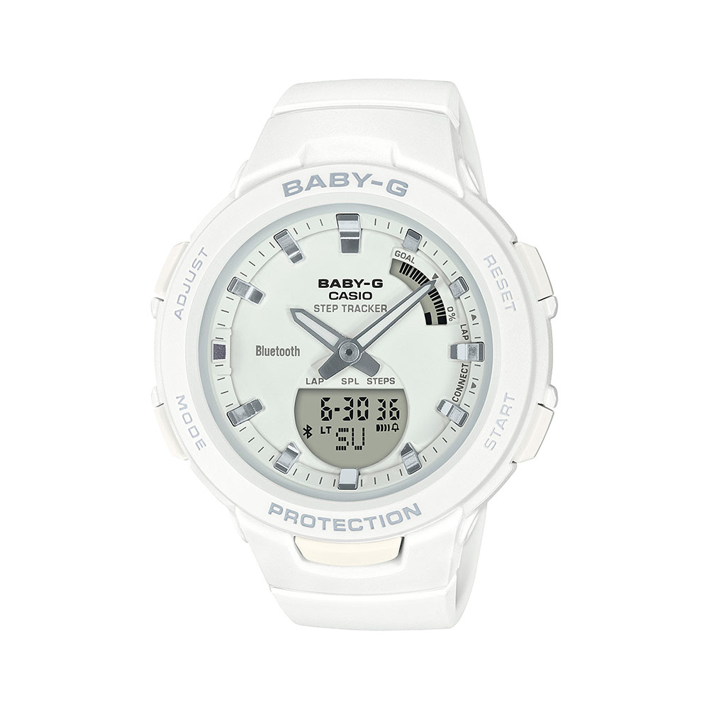 Casio Baby-G BSA-B100-7A Bluetooth Step Tracker Womens Watch