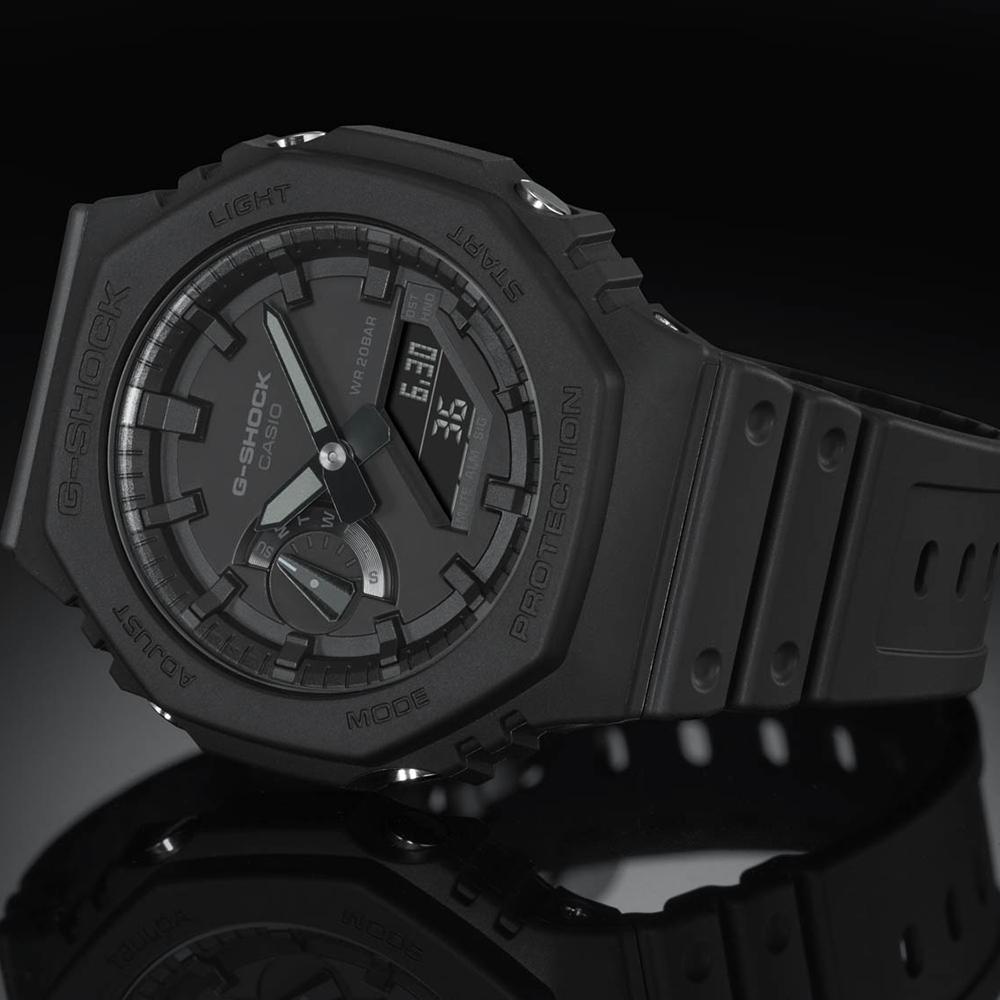Casio G-Shock 'Oak' Carbon Core Guard GA2100-1A1 'CasiOak' Mens Watch