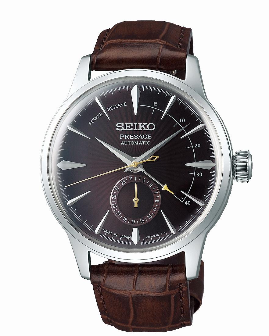Seiko Presage SSA393J Cocktail Time Leather Mens Watch