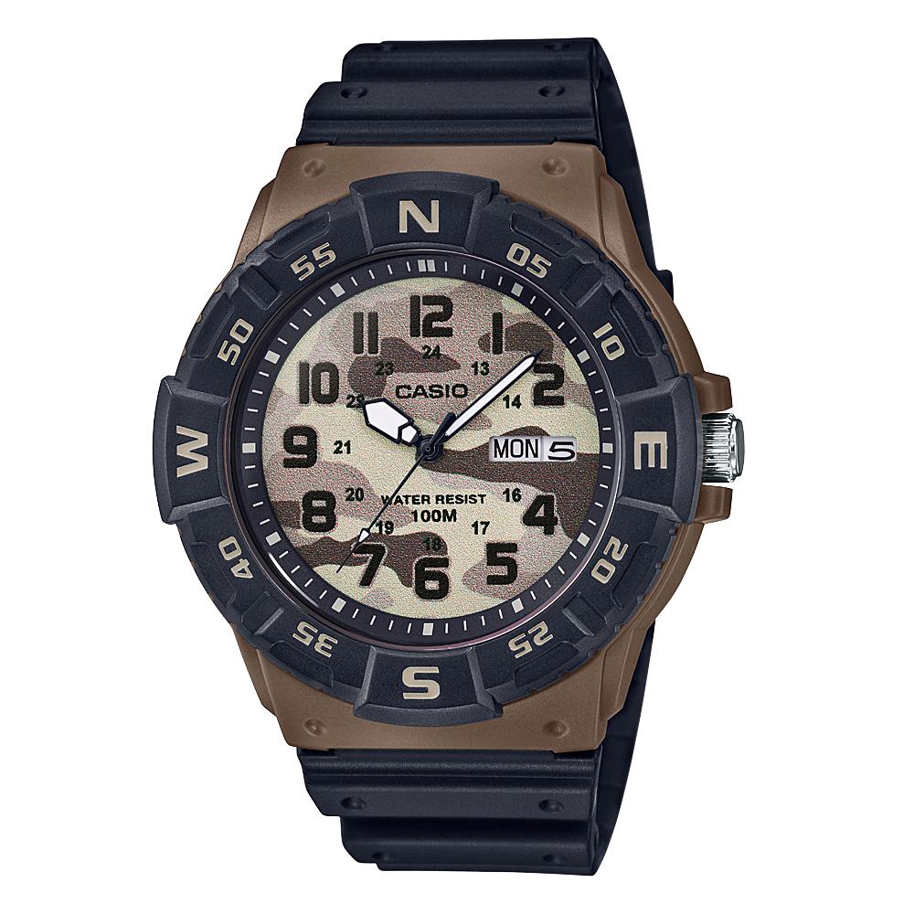 Casio MRW220HCM-5B Black Resin Youth Watch