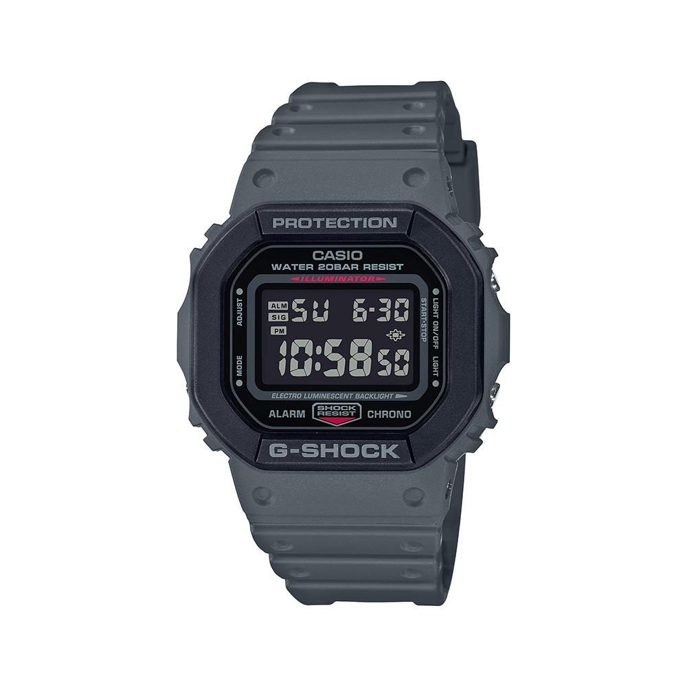 Casio G-Shock DW5610SU-8DR Grey Resin Mens Watch