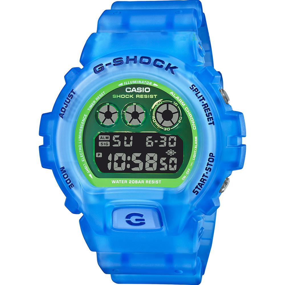 Casio G-Shock DW6900LS-2D Blue Green Watch