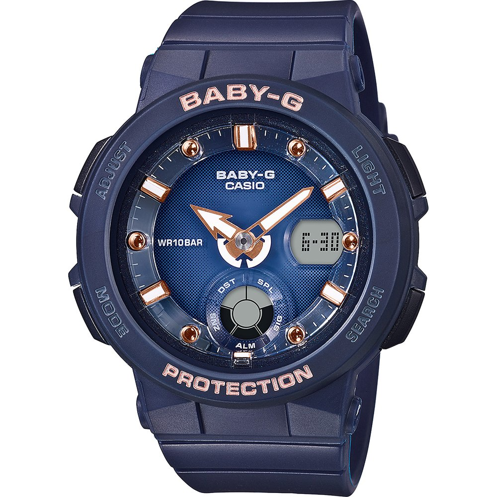 Casio Baby-G 250-2A2 Navy 100m Ladies watch