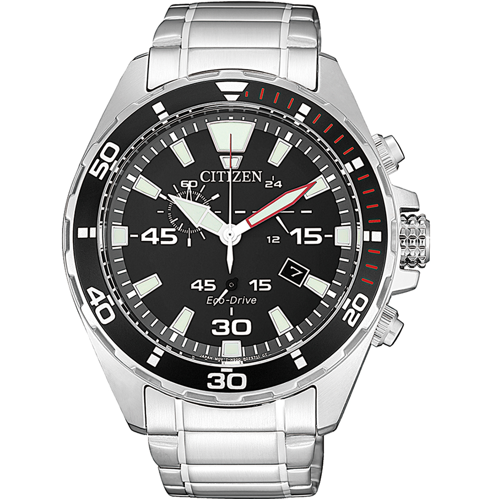 Citizen Eco Drive AT2430-80E Chronograph Mens Watch