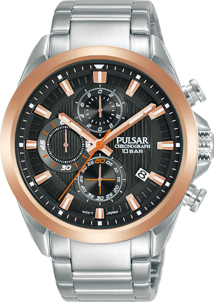 Pulsar Chronograph PM3184X WR100 Mens Watch